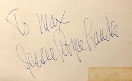 Jesse Royce Landis Autographed Signed 3X5 Index Card Actress North By Northwest - $29.99