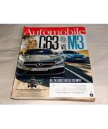 Automobile June 2015 Auto Rivista Mercedes Benz AMG C63 Vs BMW M3,321.9k... - $9.34