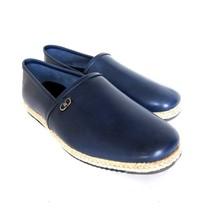 Shoe On Blue Ferragamo 10 US Leather Size New Giunone 1755186 2 S Slip Salvatore qazAvYtw