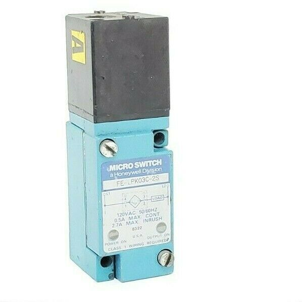 HONEYWELL MICRO SWITCH FE-LPK03C-2S 120VAC 50/60HZ FELPK03C2S
