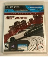 Need for Speed: Most Wanted -- Limited Edition (Sony PlayStation 3, 2012... - $14.99