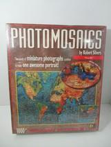 Buffalo Games Robert Silvers Earth 1000pc 1026pc photomosaic jigsaw puzzle.NEW - $9.89