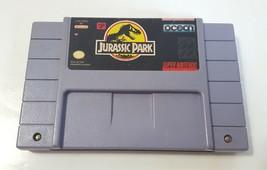 Jurassic Park - Super Nintendo SNES 1993 Video Game Cartridge - $10.84