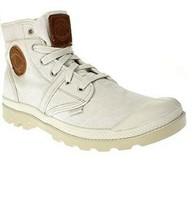 Palladium Mens Pallabrouse Lc Shoes Ivory/Safari Ivory Size UK 12 - $78.72