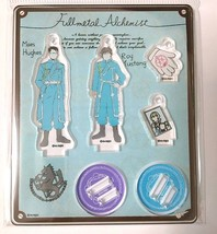 Fullmetal Alchemist Acrylic Mascot Stand Roy Mustang Maes Hughes Sanrio ... - $38.60