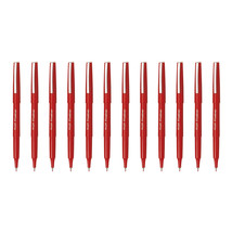 SW-PPF 0.4mm Fineliner RED Pen (Pack of 12),Pilot, for Drawing - $24.99