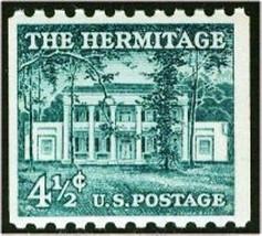 1959 4 1/2c The Hermitage, President Andrew Jackson Scott 1059 Mint F/VF NH - $1.65