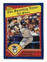 2002 Topps #357 Alfonso Soriano New York Yankees All-Stars MLB Baseball Card - $1.99