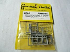 American Limited # 8800 Operating Diaphragms For Kato E & F Units Gray N-Scale image 5