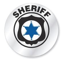 Sheriff Hard Hat Decal Hardhat Sticker Helmet Label H223 - $1.79+