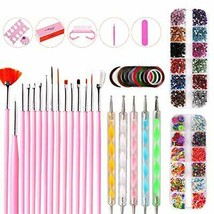 Xinfenglai A 10-piece Set of Nail Art DIY Tools, with Colored Drawing Pe... - $21.78
