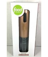 Electric Corkscrew Copper Tone Food Network by Khol's - $32.79