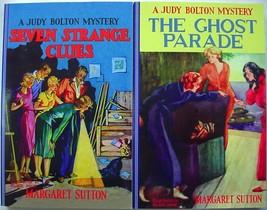 Judy Bolton 2 Lot Applewood Reprints no.4 Seven Strange Clues no.5 Ghost... - $15.00