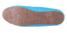 Etnies Femmes Circé Éco W Bleu Turquoise Plats Mary Jane Toile Chaussures Nib image 6