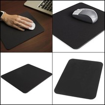 "1 PC Black Mouse Pad, 8"" x 9"" For Laptop Computer PC Gaming Working Home... - $94,28 MXN"