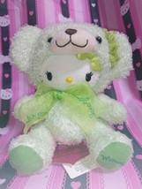 Momoberry Hello Kitty Plush Doll Stuffed Teddy Bear Sanrio Mascot Auth 2007 Rare - $401.70