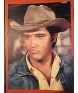 Elvis Presley In Cowboy Hat 8x10 Fan Club Of Chicago That's The Way It Is - $12.86