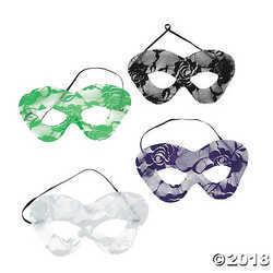 Mardi Gras Lace Masks
