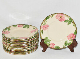 "Franciscan China Desert Rose 6"" Bread Butter Plate Dinnerware Brown TV Mark Mint - $5.95"