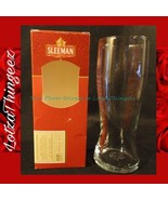 "Sleeman RARE Brewing Malting Beer Pint Glass Canadian Ale 7.5"" Tall 3"" M... - $25.73"