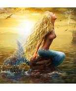 Beauty 5DDiamond Painting Mermaid Girls Home Decor Diamond Painting Mosa... - $8.00+