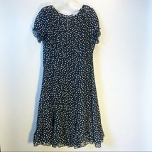 Sandra Darren | Polka Dot Boho Peasant Dress Size 12 - $31.68