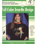 Parrot Full Color Iron-on Transfer Pattern/Instructions New Plaid 57808 - $2.86