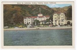 Hotel St Catherine Catalina Island CA 1920s postcard - $5.94
