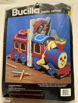 Bucilla Plastic Canvas Needlecraft Kit Storybook Express Train 6066 Vintage 1990 - $16.73