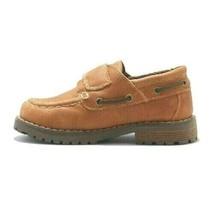 Cat & Jack Boys Toddler Brown Jacy Hook & Loop closure Loafer Shoes NWT image 2