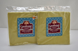 """14 Count Aida Cream Cross Stitch Fabric by Cambridge - 2 Packages 12"""" x 18"""" - $5.65"""