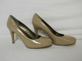 Bandolino New womens Eeledia Dark Taupe Patent Heels 9.5 M Shoes NWOB  - $78.21
