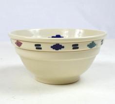 "Vintage 1981 HARTSTONE USA South Western Large Bowl Art Pottery Stonewear 9"" - $29.69"