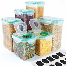 Cereal Container, VERONES Airtight Plastic Storage Containers Perfect fo... - €30,20 EUR