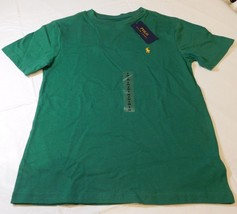 Polo Ralph Lauren Boys Youth Short Sleeve T Shirt S 8 Green 638002 NWT - $21.77