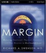 Margin - Audio Book - CD: Restoring Emotional, Physical, Financial, and ... - $24.45