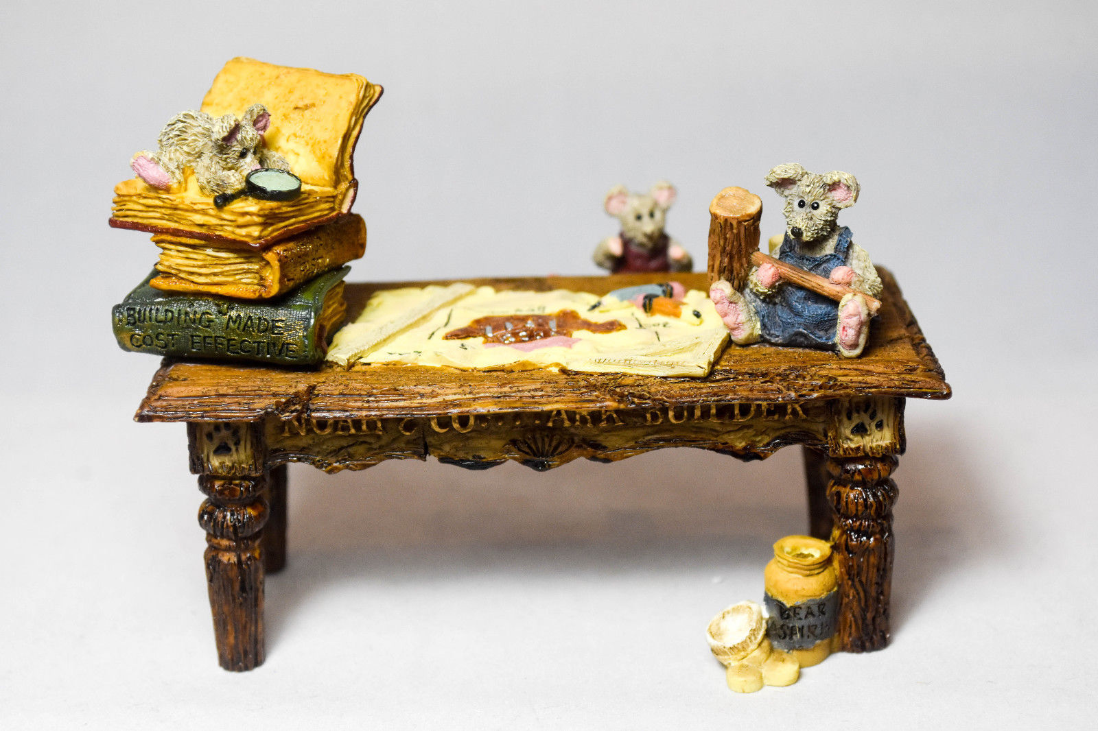 Boyds Bears: Noah's Genius At Work Table - Style 2429