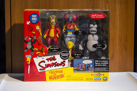 Simpsons Treehouse of Horror Springfield Cemetery Toys R Us Exclusive  - $23.99