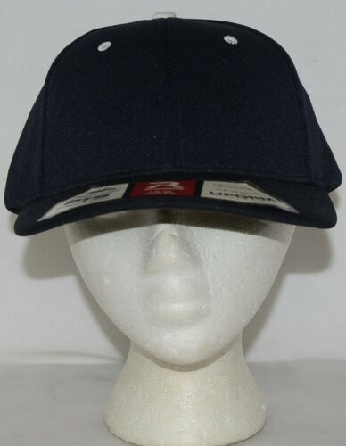 Richardson Lg XL PTS 40 Dryve R Flex Fit Baseball Hat Navy Blue White