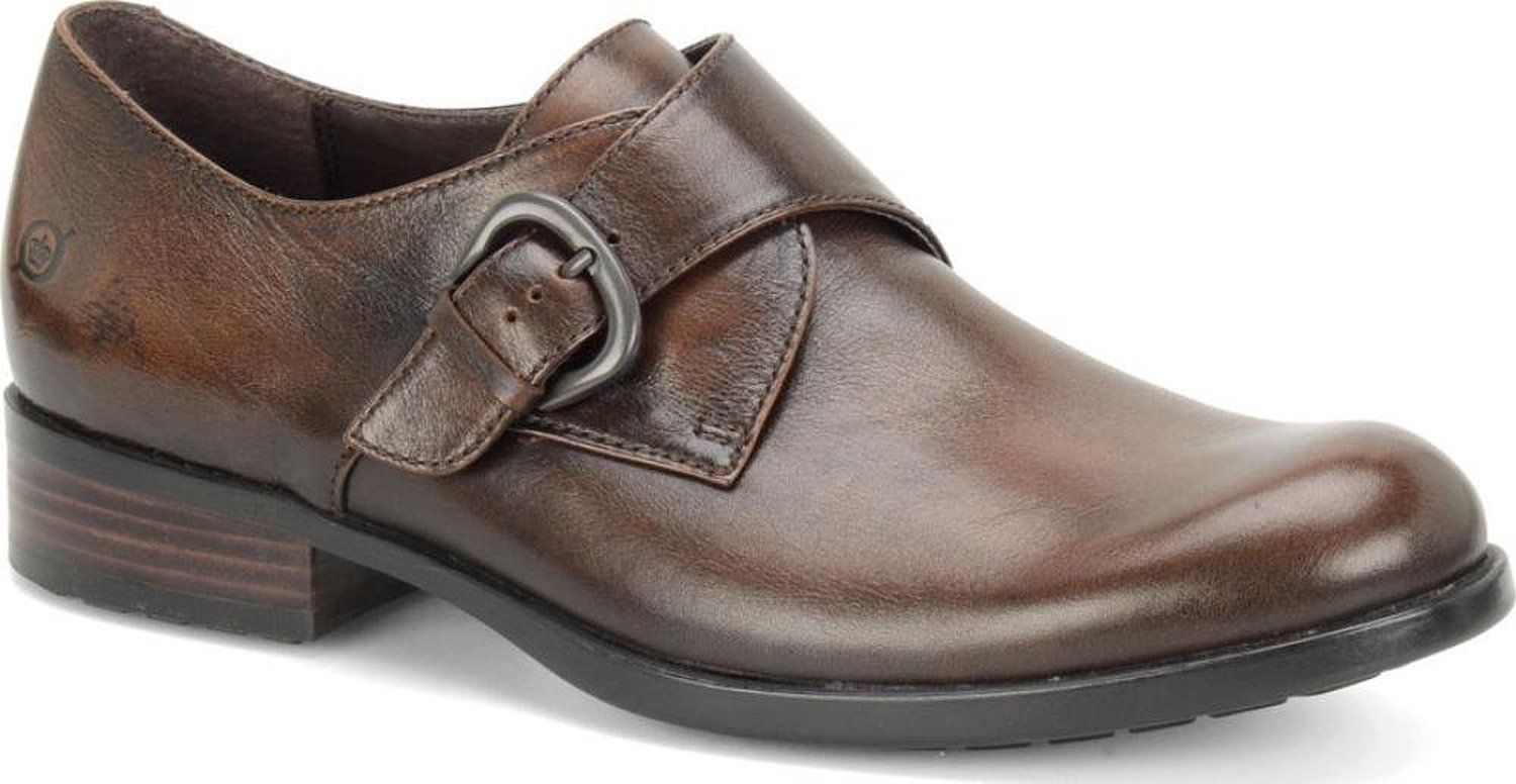 Primary image for Men's Born Vallon Rust Monk Strap Loafers Cognac, H22026 Size 11.5 NIB