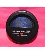 Laura Geller Eye Rimz baked wet dry eye accents Blue Voodoo .042oz  - $9.99