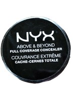 NYX Above & Beyond Full Coverage Concealer CJ06 Glow 0.21 oz. Brand New - $7.43