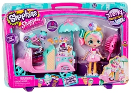 Shopkins Shoppies Peppa-Mint's Gelati Scooter Vacation World Italy - $22.95
