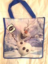 Disney Frozen Olaf Snowman Reusable Tote Shopper Gift Bag  NEW!  - $6.25