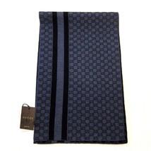 "J-1746119 New Gucci Gray Blue Nile Scarf  40"" x 12"" - $189.99"