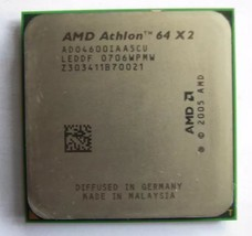 Amd Athlon 64 X2 4400+ ADO4600IAA5CU 2.4GHz 1M Cache AM2 Proceesor Cpu Tested - $9.17