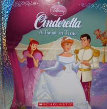NEW Cinderella Twist in Time Disney Storybook with Crafts Activities Sch... - $3.98