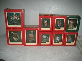 Carlton Cards Heirloom 1988-92 Christmas Ornaments 9 Lot vintage - $148.49