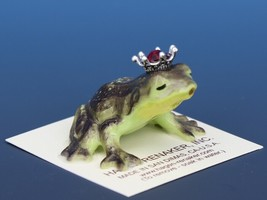 Birthstone Frog Prince Kissing July Ruby Miniatures by Hagen-Renaker image 2