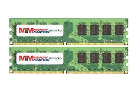 MemoryMasters 4GB (2x2GB) DDR2-800MHz PC2-6400 Non-ECC UDIMM 2Rx8 1.8V Unbuffere